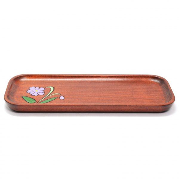 新商品! コモロスミレ ペン皿(レッドブラウン色)