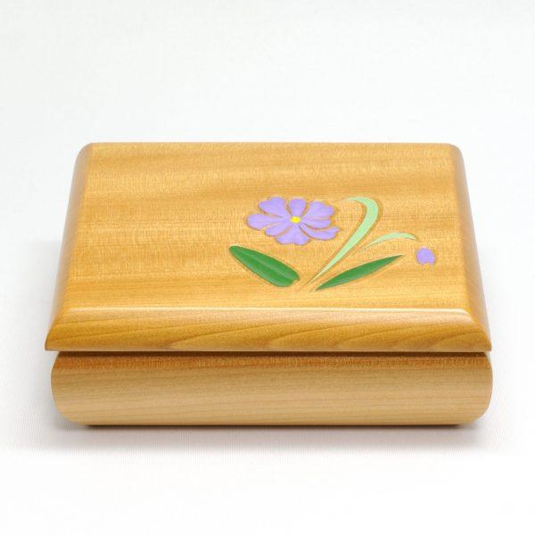 コモロスミレ カードケース(ナチュラル色)